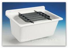Velká mycí vanička Nicoll (Abusanitair) 60003010007 | Vodo-plasttop s.r.o.