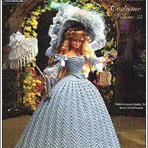 Como Fazer Lembrança de Casamento:  Boneca Barbie Noiva Com Vestido de Crochê,  Com Gráficos