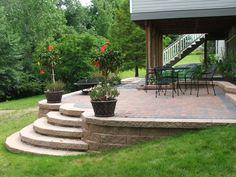 raised concrete patio - google search | home | pinterest ... - Raised Concrete Patio Ideas
