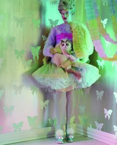 Bette Franke by Jeff Bark for Dazed & Confused, April 2012.