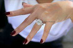 Asscher cut diamond Engagement Ring carat G color Asscher Cut Diamond Engagement Ring, Diamond Cuts, Color, Jewelry, Jewlery, Jewerly, Colour, Schmuck, Jewels