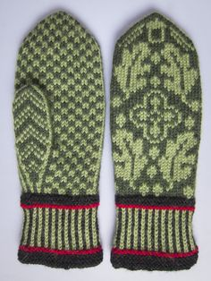 Gorgeous Norwegian mittens