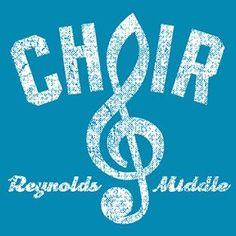 Our school spirit choir design From Image Market School Clubs, School Fun, School Stuff, School Ideas, Internet Radio, Choir Shirts, Elementary Choir, Choir Room, School Shirt Designs