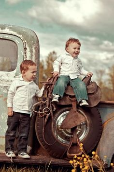 The Fancy Farmgirl Photography - People & Portraits- look at this picture everyday and smile.  My cute little grandsons.  Thanks Tiffany.