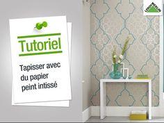 Comment poser du papier peint intissé ? Leroy Merlin - YouTube