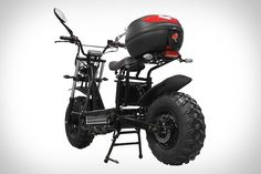 Rugged, street-legal, and eco-friendly, the Beast Off-Road Scooter blends a surprising mix of features into a versatile vehicle. An electric motor (or two) propels the. Electric Bicycle, Electric Scooter, Electric Motor, The Beast, Off Road Scooter, Power Bike, Motorcycle Types, Commuter Bike, Pony Car