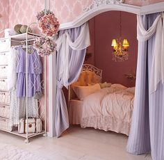 Teen Girl Bedrooms wickedly creative room area - From do it yourself to fun bedroom decor examples. Sectioned under teen girl bedrooms themes shabby chic , wicked example note shared on 20190129 Cute Bedroom Ideas, Cute Room Decor, Girl Bedroom Designs, Room Ideas Bedroom, Awesome Bedrooms, Cool Rooms, Bedroom Decor, Bedroom Furniture, Kids Bedroom
