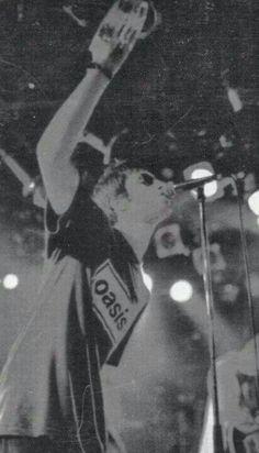 Liam and tambourine
