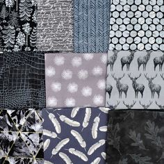 A pack of 10 half yards of assorted fabrics from Andover, Robert Kaufman, Benartex and Camelot. Just $30 with Free Shipping through 6/4 or while it lasts! Robert Kaufman, Shades Of Grey, Yards, Fabrics, Packing, Quilts, Free Shipping, Tejidos, Bag Packaging