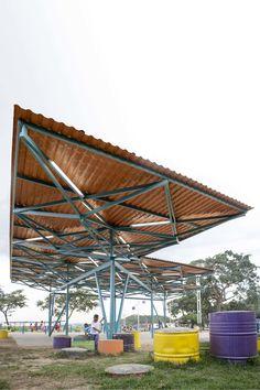 <b>Organizers</b><br> Comisión Presidencial del Movimiento por la Paz y la Vida<br> <b>Direction</b><br> PICO Estudio/ Venezuela<br><br> <b>Architectural Collectives</b><br><br> Abono / Venezuela<br> Al Borde / Ecuador (www.albordearq.com)<br> A...