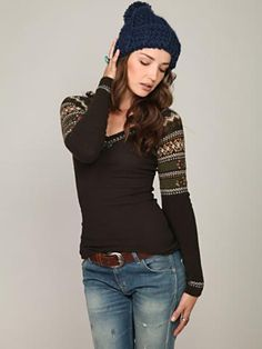 I love the sleeves! Free People
