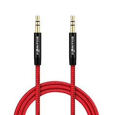 Amazon Lightning Deal 55% claimed: 3.5mm AUX Cable Blitzwolf Braided 3.3ft Universal Audio Cable Cord for Car ... http://www.lavahotdeals.com/ca/cheap/amazon-lightning-deal-55-claimed-3-5mm-aux/126065