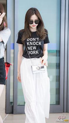 #apink, #naeun, #airport, #fashion