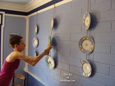 Could work with our blue & white plates in the dining room