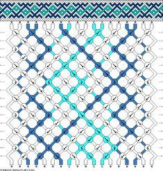 18 strings 16 rows 3 colors