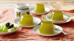 Green tea jelly recipe : SBS Food