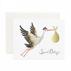 Baby card - £3.80 - Quill London
