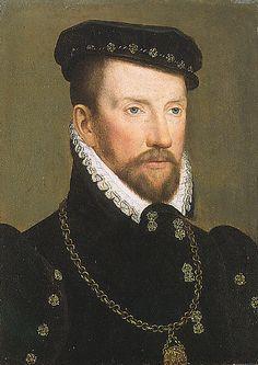 François Clouet - Admiral Gaspard II de Coligny - Gaspard II de Coligny — Wikipédia