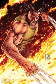 Savage Wolverine 18 Shane Davis Inks Mic E Delecki Colors Morry
