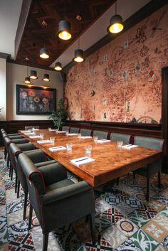 The Lost & Found (Birmingham, UK) Kai Design and Arm & Eye - Restaurant & Bar Design