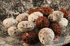 Vánoční cukroví - oříšky s karamelovým krémem