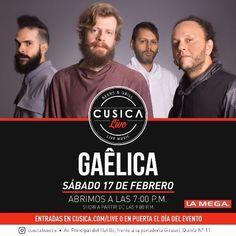 """Cusica Live presenta a """"Gaélica"""" http://crestametalica.com/evento/cusica-live-presenta-gaelica-2/ vía @crestametalica"""