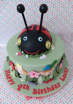 Take inspiration from elf and fairy parties to create the perfect Ben and Holly's Little Kingdom party. Here are some party ideas to help with your organizing. Ben And Holly Party Ideas, Ben And Holly Cake, Ben E Holly, Fairy Birthday Cake, 3rd Birthday Cakes, Girl 2nd Birthday, Birthday Ideas, Cake Tv Show, Ladybug Cakes
