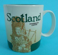 Starbucks Scotland Bagpipes Global Icon Mug 16 oz New | eBay