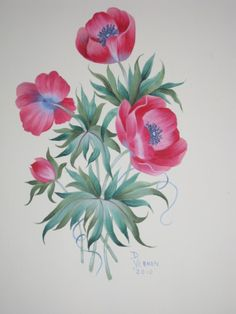 Painted by David Vernon.  A Maureen McNaughton design and pattern.