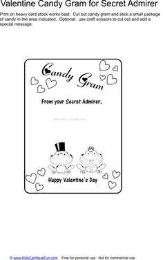 Owl Candy VALENTINES DAY Printable  Fundraiser  Game  Candy