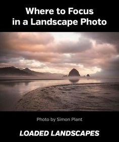 Landscape photography is a rewarding aspect of outdoor photography. Getting your best shots can sometimes be tricky when you don't know where to focus. This tutorial Where to Focus in a Landscape Photo should help with that. Beautiful Landscape Photography, Mixed Media Photography, Landscape Photography Tips, Photography Basics, Photography Lessons, Camera Photography, Outdoor Photography, Photography Tutorials, Landscape Photos