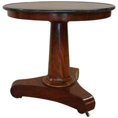 19th Century French Empire Mahogany Side Table | 1stdibs.com