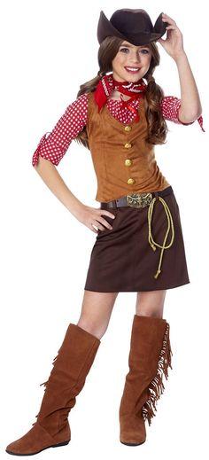 CHILD GUN SLINGER GIRL COSTUME WILD WEST WESTERN COWGIRL KIDS GUNSLINGER OUTFIT  sc 1 st  Pinterest & Cowgirl Costume Ideas for Women | Cowgirl Costume | World ...