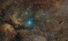 Supergiant star Gamma Cygni lies at the center of the Northern Cross, a famous asterism in the constellation of the Swan (#Cygnus). Image Credit & Copyright: Jose Francisco Hernandez (Altamira Observatory)  Known by the proper name Sadr, the bright star also lies at the center of this gorgeous skyscape, featuring a complex of stars, dust clouds, and glowing nebulae along the plane of our Milky Way galaxy.