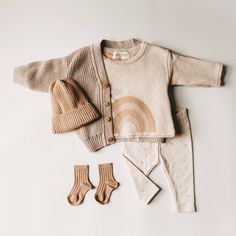 Baby Outfits, Cute Outfits For Kids, Cute Kids Fashion, Baby Girl Fashion, Cute Baby Clothes, Modern Baby Clothes, Baby Pullover, Clothing Photography, Boho Baby