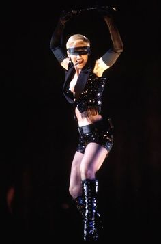 Nov20'93 Madonna Live Down Under The Girlie Show was broadcasted on HBO. It was the channel's most watched original program of the year.