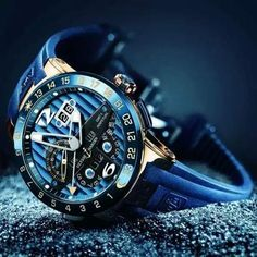 Ulysse Nardin El Toro Blue Hand Watch