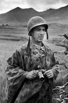 Happy 97th, David Douglas Duncan.    The photographer lived through most of the 20th century, and is still alive well into the 21st. He remains, decades after he stopped covering armed conflicts, one of history's preeminent war photographers. That he is so much more than a war photographer, though, is only one of the reasons we celebrate his birthday and his incomparably productive life.