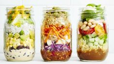 Preparer repas semaine avance meal jar