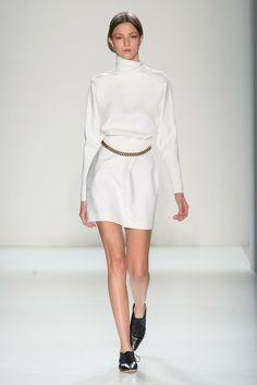 Victoria Beckham at New York Fashion Week Fall 2014 - Runway Photos