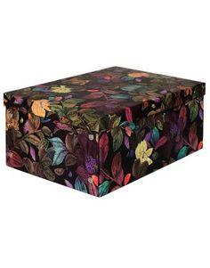 BOX DJUNGEL låda svart