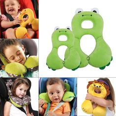 Activity & Gear Delicious Baby Stroller Pillow Infant Car Seat Head Neck Protection U Shaped Pillow Soft Adjustable Head Support Stroller Accessories