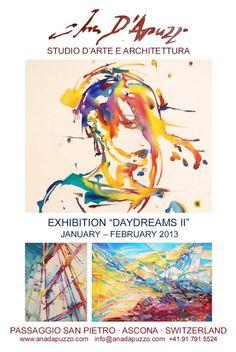 Twitter / AnaDApuzzo: New exibition in Ascona Studio ...