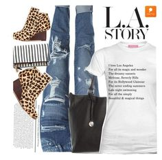 """""""L.A. Story"""" by ansev ❤ liked on Polyvore featuring popmap"""