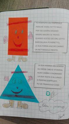 Per le forme geometriche parto sempre da una bellissima storia: Aldo Cambio di Guastalla... Prima