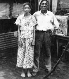 """Voodoo queen Lala and her husband Louie in New Orleans Louisiana in the 1930s,"" photographer and exact date unknown"