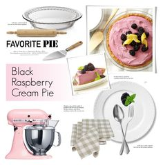 """Favorite Pie"" by cly88 ❤ liked on Polyvore featuring interior, interiors, interior design, home, home decor, interior decorating, KitchenAid, Royal Copenhagen, Cake Boss and Crate and Barrel"