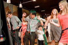 Brett Maxwell, a wedding photographer in Michigan, sent us in this fun dance floor moment. Poor little guy!