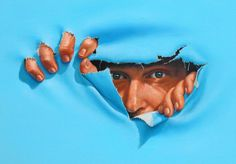 Self-Portrait by Jim Warren, Original Painting, Oil on Canvas Surreal Photos, Surreal Art, Magritte, Fantasy Images, Art Images, Jim Warren, Surrealism Painting, American Artists, Art For Sale