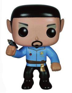 Star Trek POP! Vinyl Figur Mirror Universe Spock 10 cm  Star Trek - Hadesflamme - Merchandise - Onlineshop für alles was das (Fan) Herz begehrt!